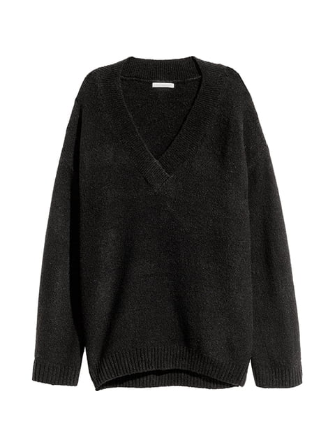 Джемпер чорний H&M 5173305
