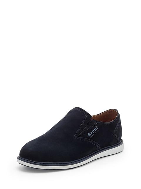 Туфли синие Broni 5173571