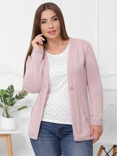 Кофта рожева MarSe 5173931