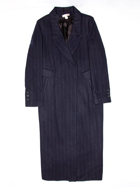 Пальто синє H&M 5113128