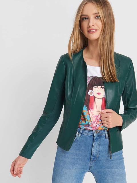Куртка зеленая Orsay 5175918