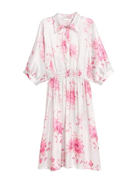 Платье белое H&M 5176617