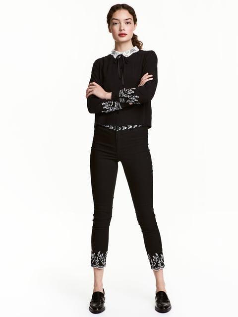 Джинсы черные H&M 5176275