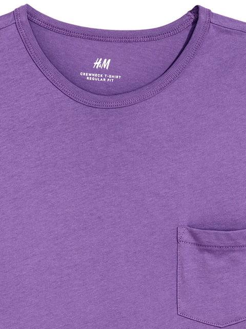 Футболка фиолетовая H&M 5176584