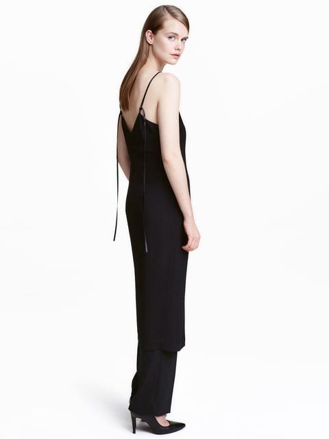 Платье черное H&M 5176255