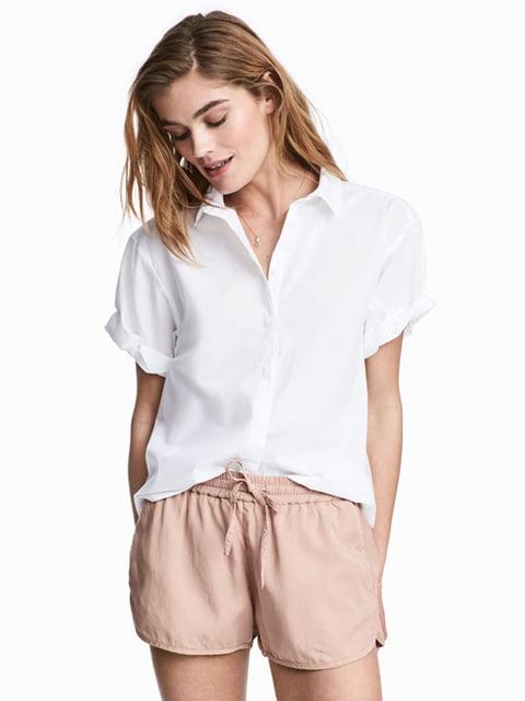 Рубашка белая H&M 5176271
