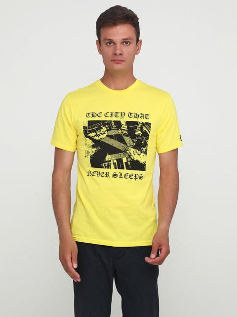 Футболка желтая H&M 5172115