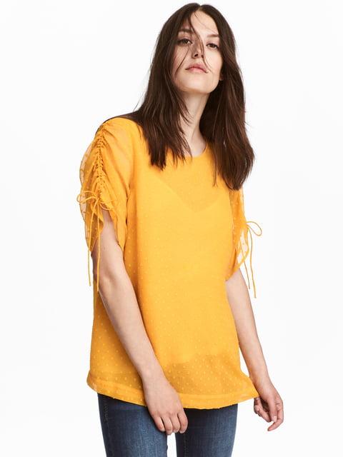 Блуза желтая H&M 5172208