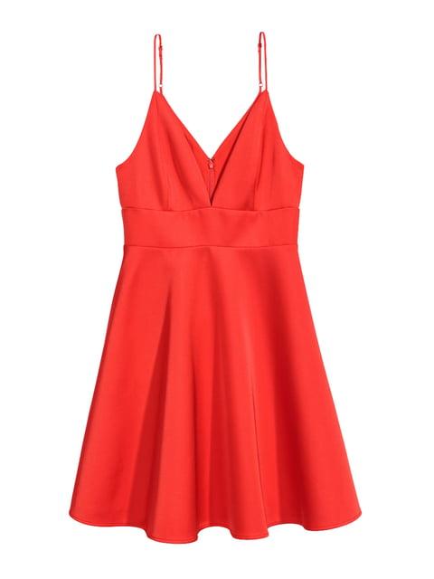 Платье красное H&M 5172633