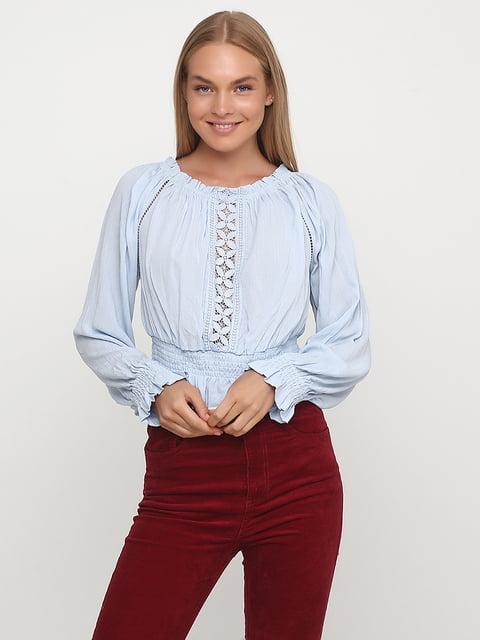 Блуза голубая H&M 5172764