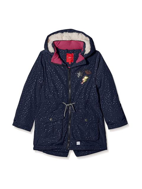 Куртка темно-синя в горох S.Oliver 5177108