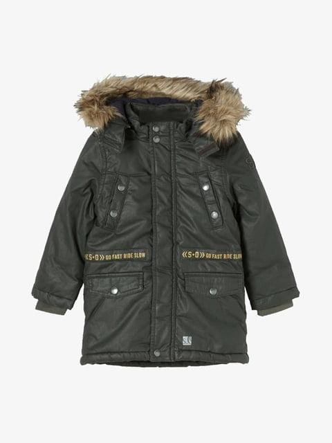 Куртка кольору хакі S.Oliver 5177173