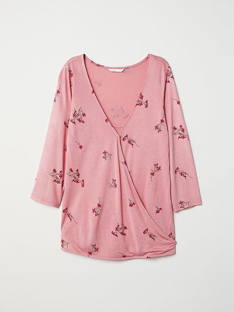Блуза рожева H&M 5171363