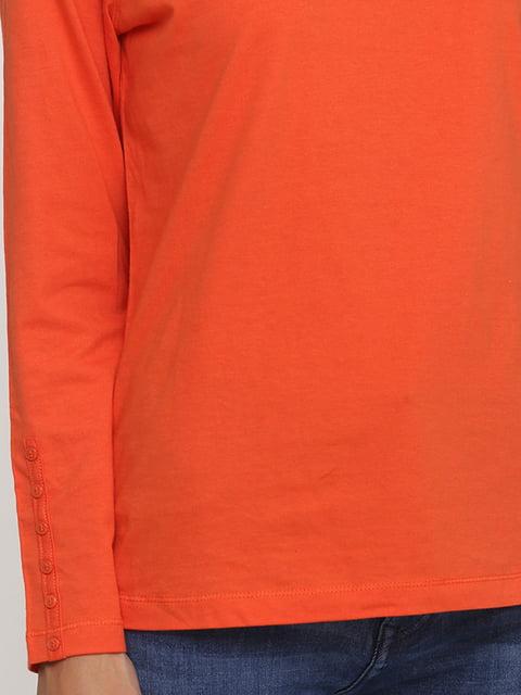 Лонгслив оранжевый H&M 5172038