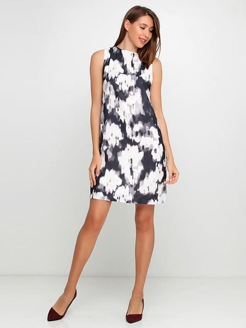 Платье черно-белое H&M 5172189