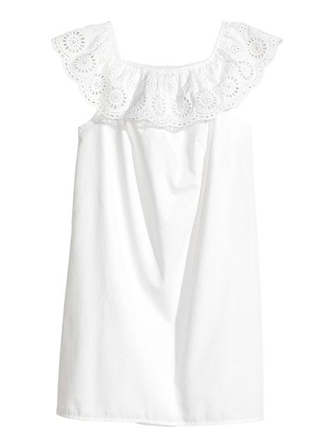 Платье белое H&M 5172245