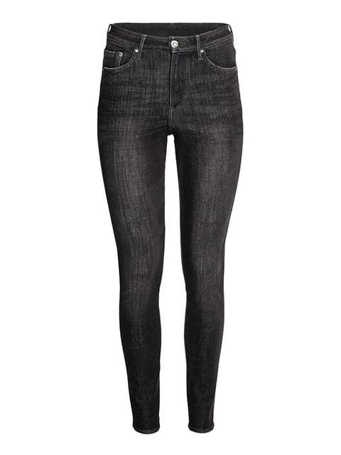 Джинсы черные H&M 5176213