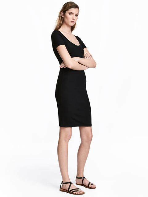 Платье черное H&M 5176278