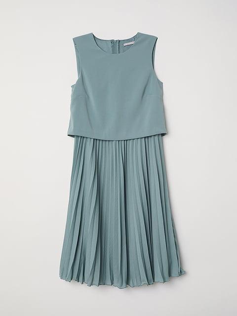 Платье бирюзовое H&M 5176294