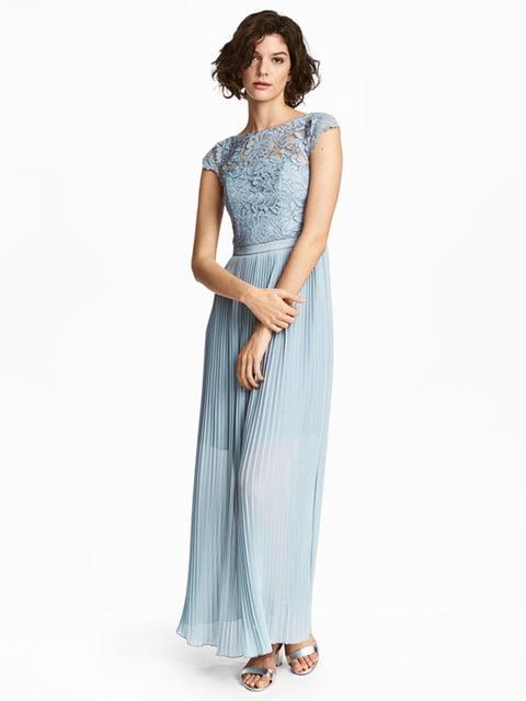 Платье голубое H&M 5176301