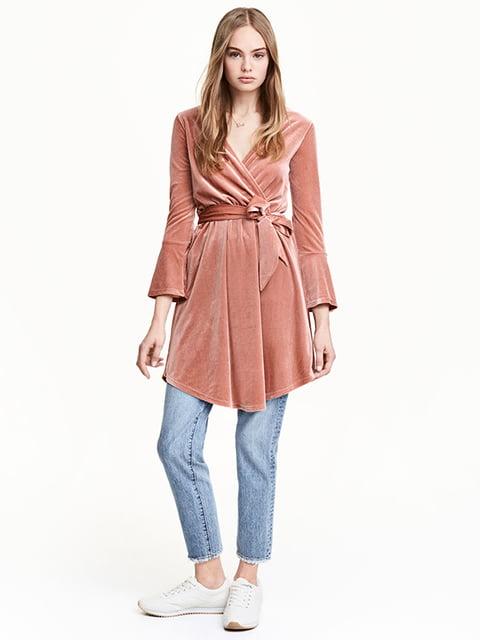 Платье розовое H&M 5176304