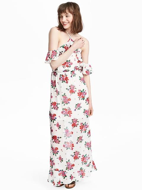 Платье белое H&M 5176322