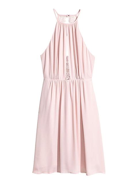Платье цвета пудры H&M 5176340