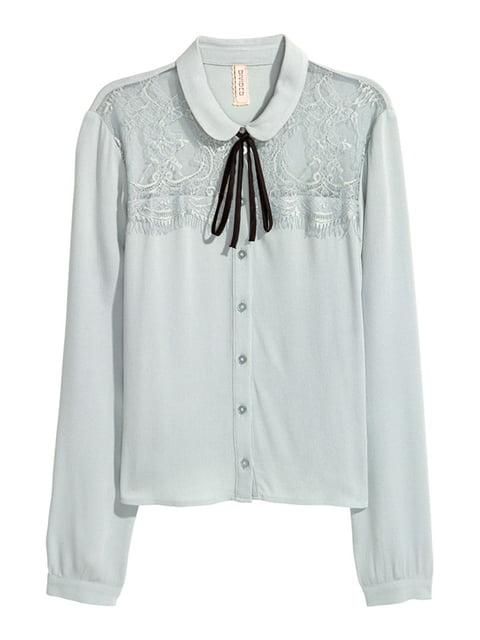 Блуза бирюзовая H&M 5176342