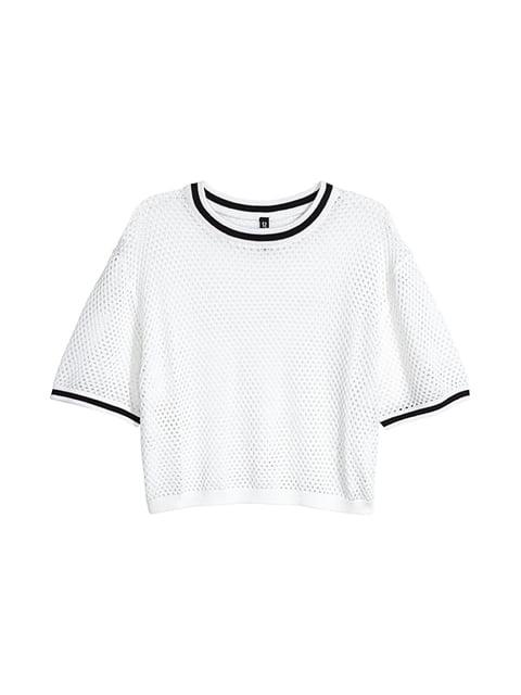 Топ белый H&M 5176359