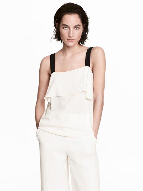Топ белый H&M 5176389
