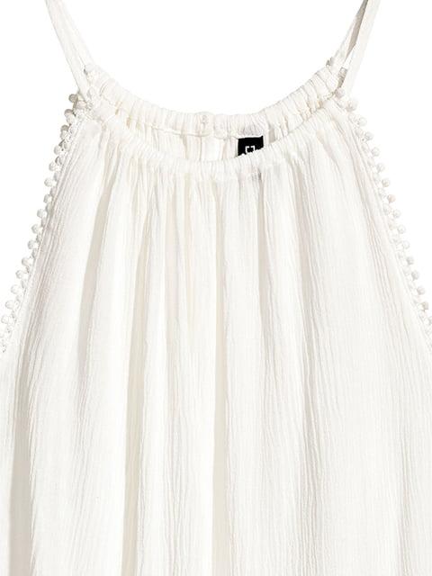Топ белый H&M 5176417