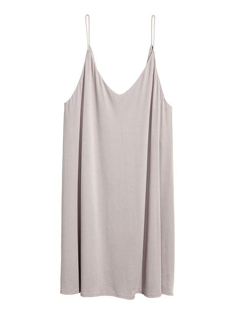 Сарафан светло-серый H&M 5176435