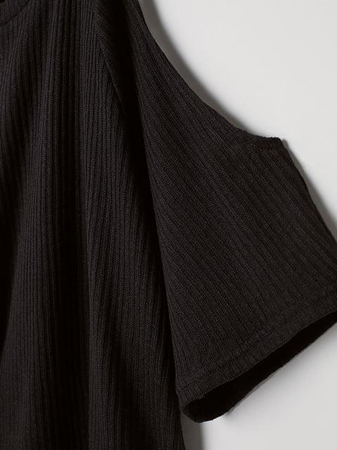 Топ черный H&M 5176446