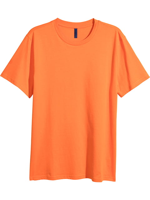 Футболка оранжевая H&M 5176475
