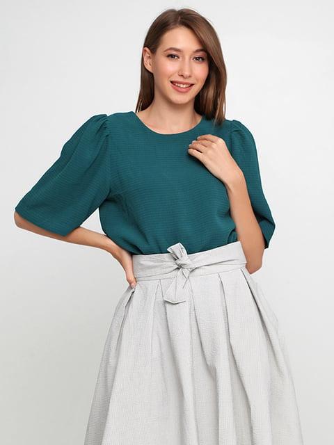 Блуза темно-зеленая H&M 5176493