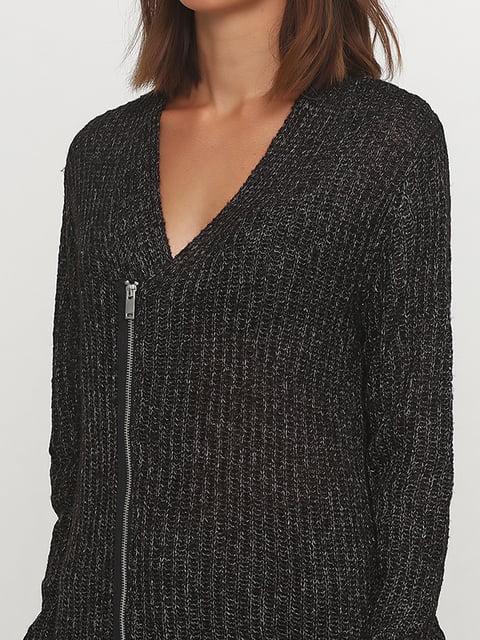 Кардиган темно-серый H&M 5176572