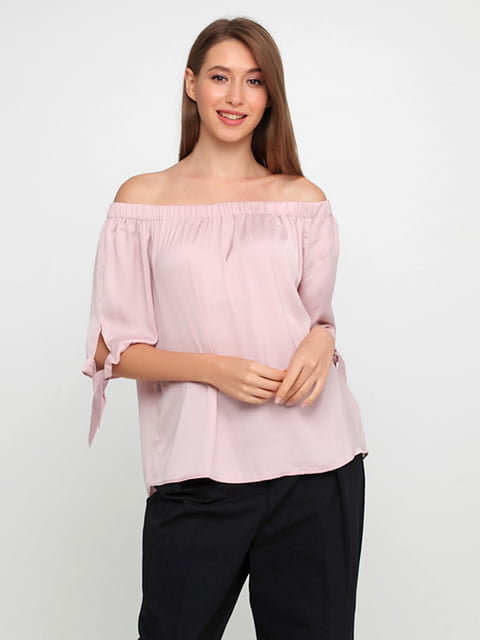 Блуза светло-розовая H&M 5176673