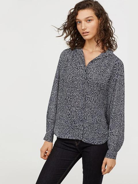 Блуза синьо-біла H&M 5176719