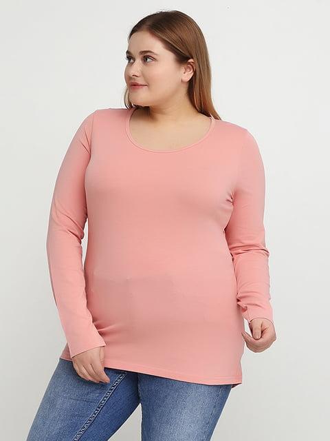 Лонгслив светло-розовый Street One 5170499