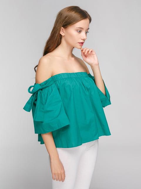 Блуза зелена Pimkie 4871491
