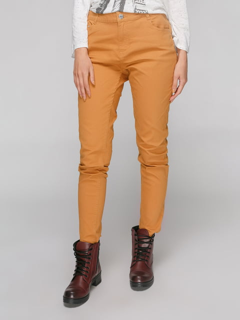 Штани гірчичного кольору Pimkie 4546822