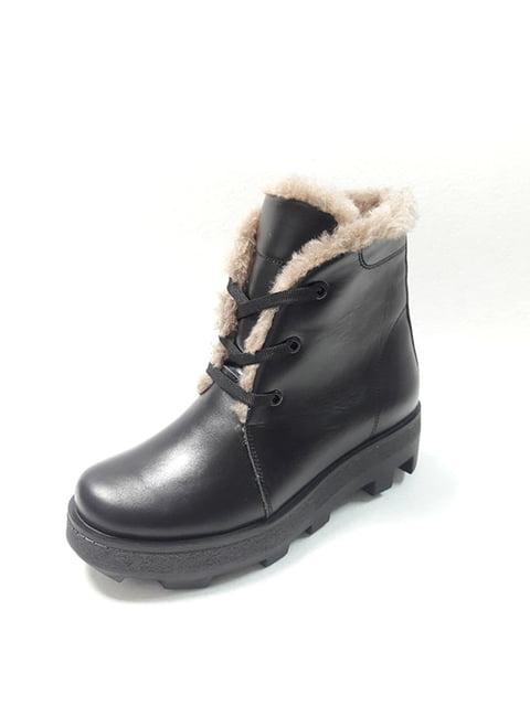 Ботинки черные Tops 5178088
