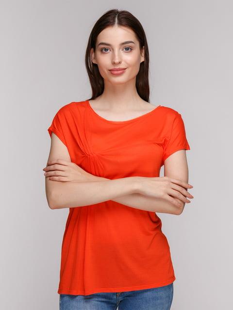 Футболка яскраво-помаранчева Pimkie 4623034