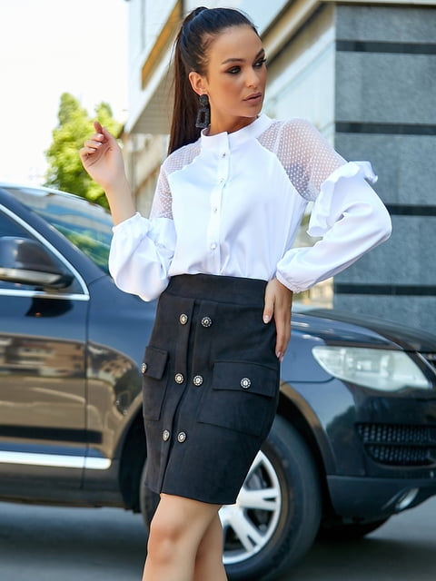 Блуза белая Seventeen 5178758