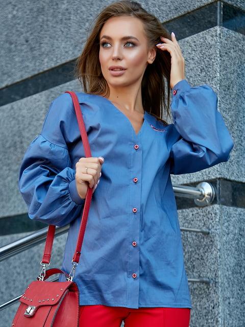 Рубашка синяя Seventeen 5178762