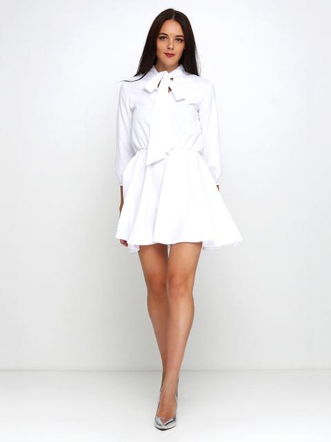 Платье белое Podium 5179342