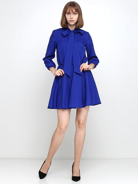 Платье синее Podium 5179344