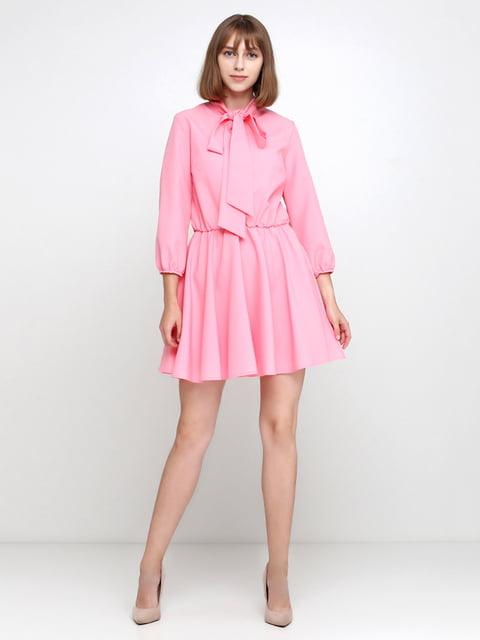 Платье розовое Podium 5179346