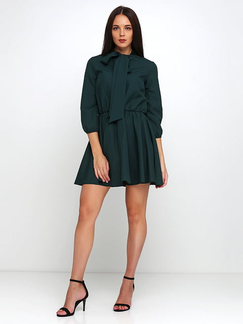 Платье зеленое Podium 5179349