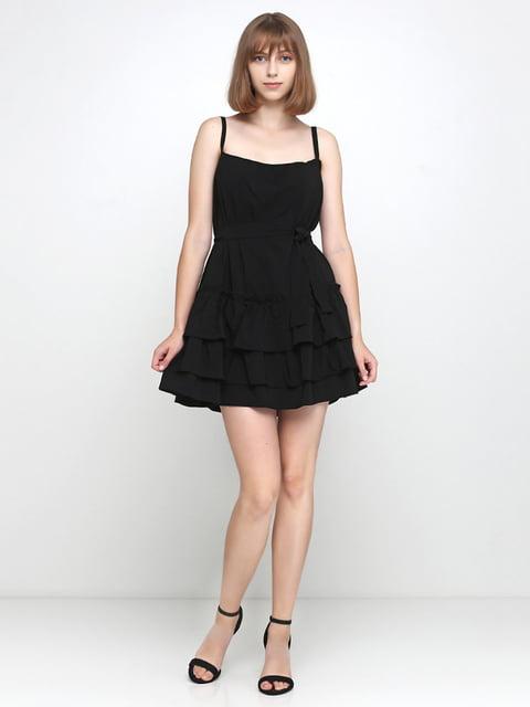 Платье черное Podium 5179299